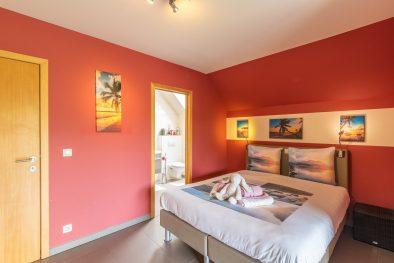 Bedroom of Guesthouse SweetHome Barebeek B&B Kampenhout Berg zemst Nearby Zaventem (Brussels Airport)